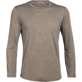 Icebreaker Sphere LS Crewe Shirt Herre driftwood heather
